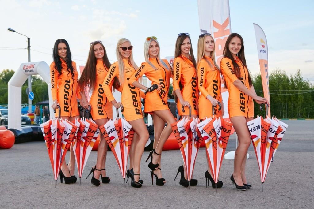 Repsol Girls Russia Россия
