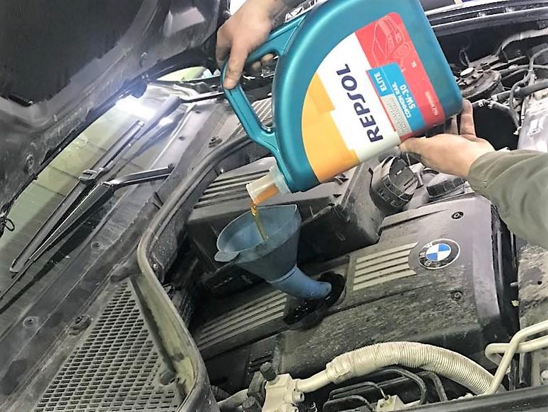 Repsol отзывы авто масла BMW X5 E70