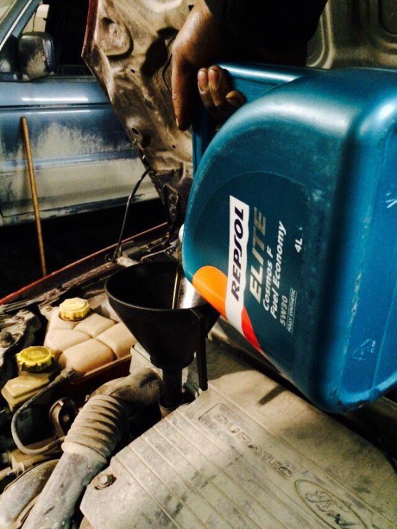 масло моторное для Ford - Repsol Elite Cosmos F Fuel Economy 5W30