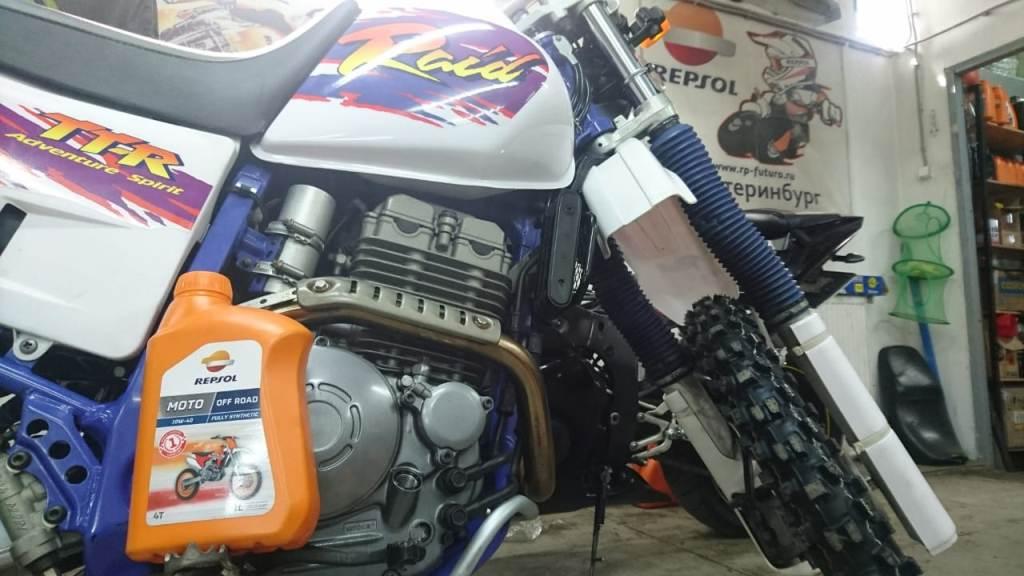 масло синтетика для Yamaha TTR250 Repsol Moto OffRoad 10W40