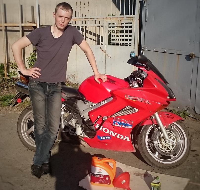 Repsol Moto Racing 4T 10W40 - Андрей - Honda VFR 800 Vtec