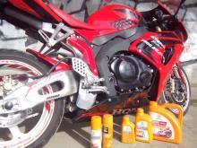 масло для Honda CBR