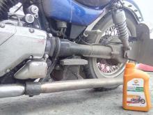 масло в Intruder (Интрудер Repsol Moto V-Twin 20W50)