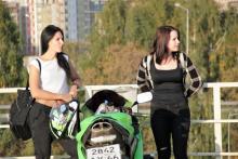 Мото красавицы в Екатеринбурге